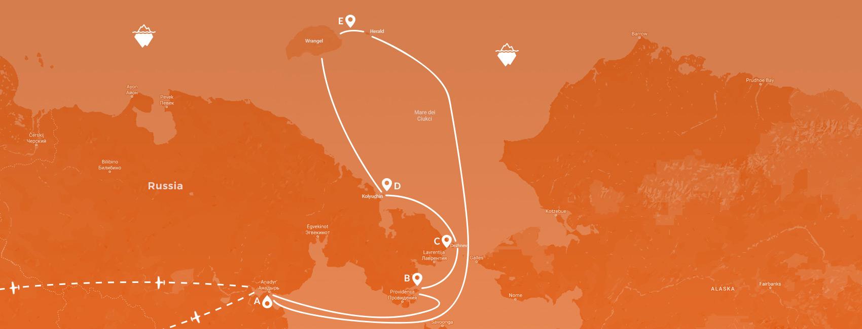 Maps - Russia - Wrangel