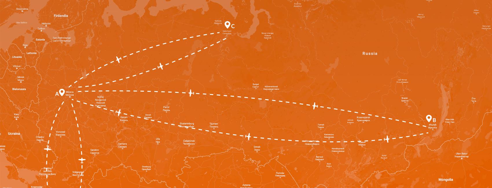 Maps - Russia-Baikal-Yamal