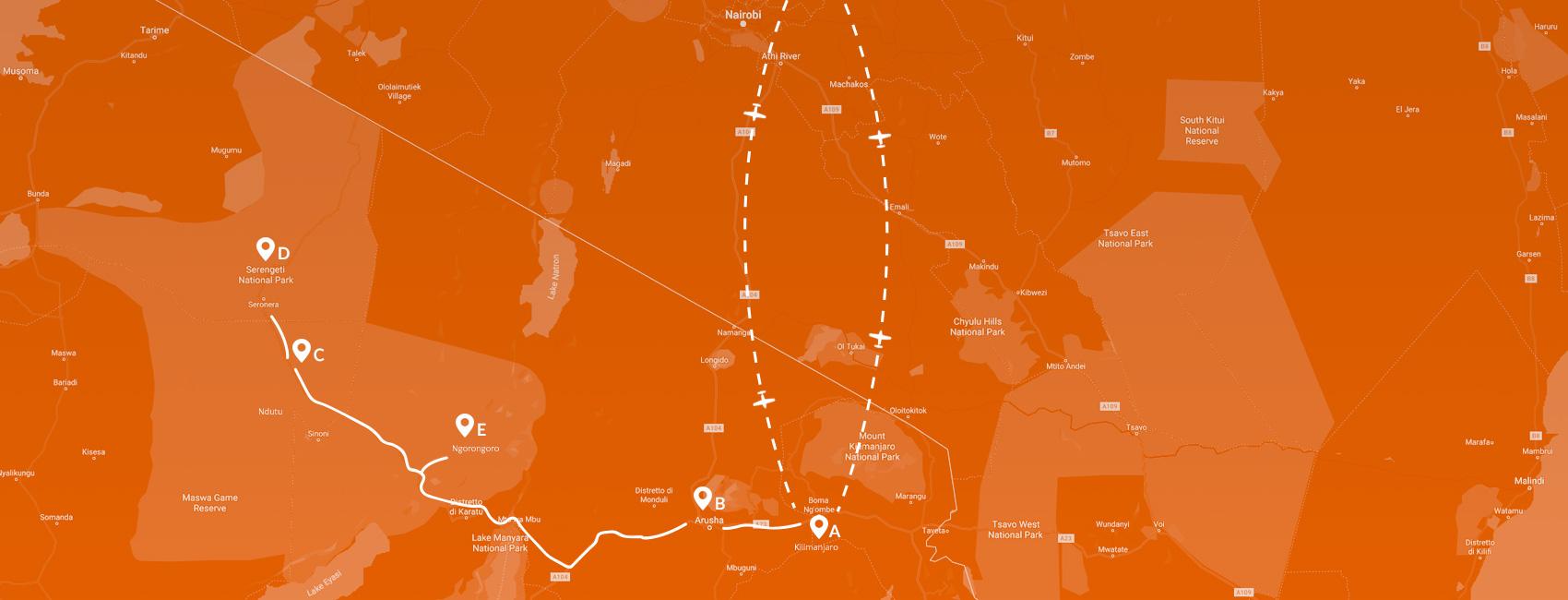 Maps - Tanzania - Nascita degli gnu