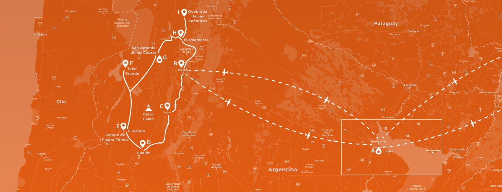 Maps - Argentina - I meravigliosi paesaggi della Puna