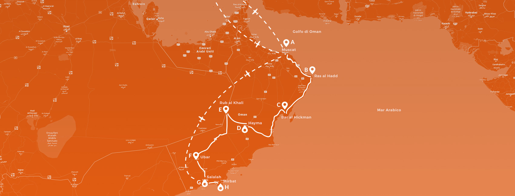 Maps - Oman - Rub al Khali