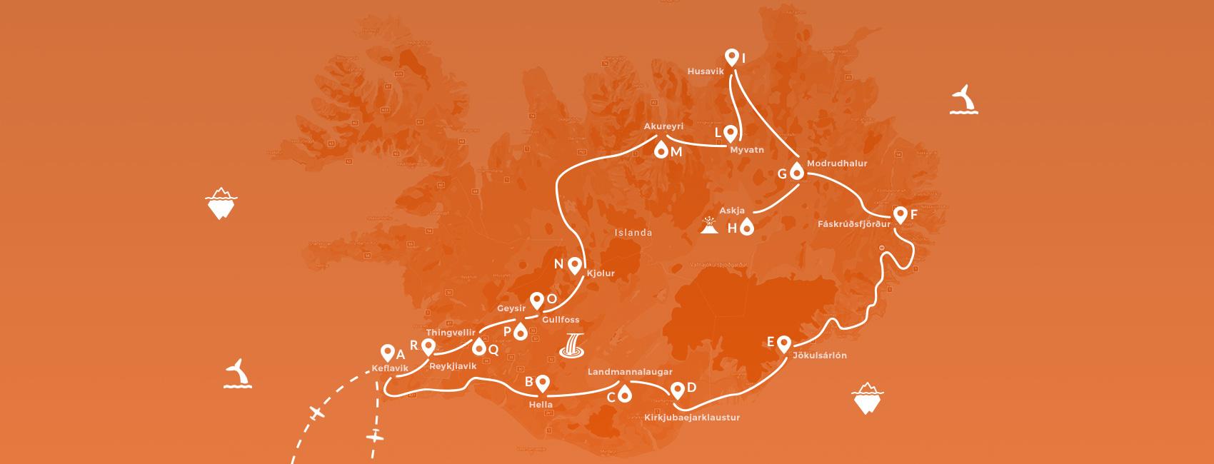 Islanda - Vulcani e altopiani con geologo